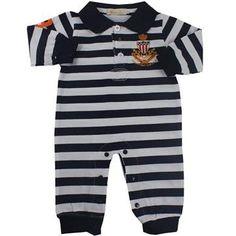 Cegonha Feliz Roupas Bebê Menino : Macacão Longo Malha Listrada Bebê Menino