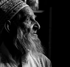 Photographer Name : Swarat Ghosh Title : Reflective~ in a thoughtful mood Description : This Photo was taken when i went for street photography in old parts of Hyderabad city.This old gentleman is a grocery shop owner at the old city. At this age people normally retires from their respective job..he is an exception. Kudos to him and his stamina!!. | 121clicks.com25 Best Entries of The Black and White Portrait Contest - 121Clicks.com