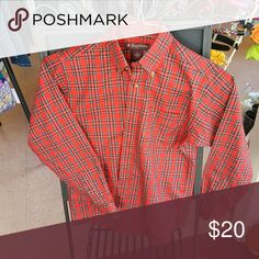 Brooks Brothers button down shirt Button down shirt Red & Black plaid Brooks Brothers Shirts & Tops Button Down Shirts