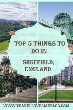 Sheffield, The Steel City. The fresh air, the energy, and the good vibes it radiates, there is no doubt Sheffield is the steel city. Here are my suggested Top 5 things to do in Sheffield based on experience. Europe Travel Tips, European Travel, Travel Destinations, Travel Guides, Backpacking Europe, Travel List, Travel Hacks, Travel Packing, Solo Travel