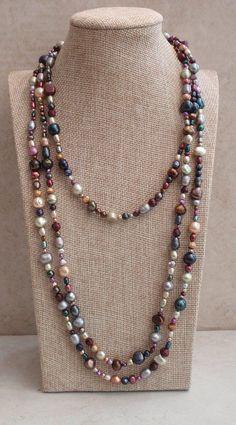 Pearl Bracelet, Pearl Jewelry, Beaded Jewelry, Jewelery, Pearl Necklace, Vintage Jewelry, Jewelry Necklaces, Handmade Jewelry, Vintage Pearls