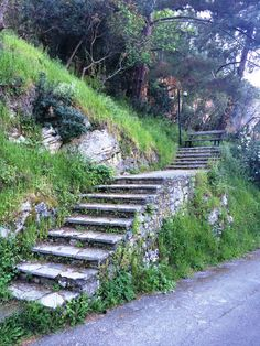 "Stairs at ""Voltes"", Spartochori"