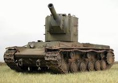 The KV-2 is a Heavy Tank. It was in the second world war and had strong armour. The KV-2 had a very big gun and could easily destroy a tank with one shot. The KV-2 was used by the Russian Army ( Soviet Union)