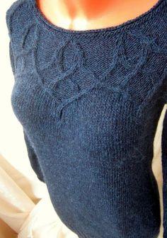 Вязаное платье-туника из альпаки