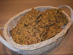 Glutenfrie fristelser: Knækbrød med boghvedegryn, glutenfri