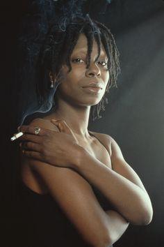 the versatile, ever-talented, Ms. Whoopie Goldberg: an actress, comedienne, radio disc jockey, producer, author, singer-songwriter, talk show host & broadway star. She is one of a few entertainers who have won an Emmy, Grammy, Oscar, and Tony award.