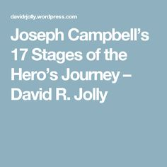 beowulf hero s journey stages Teach the hero's journey, or monomyth cycle, using steps created by joseph campbell storyboards include a heroic journey explanation, literature examples & more.