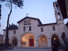 Orthodox Church in Hatay (Antakya). This town was known as Antioch in antiquity.    Turkey