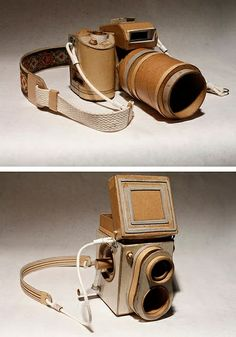 Who knew you could turn a #cardboard into #camera.