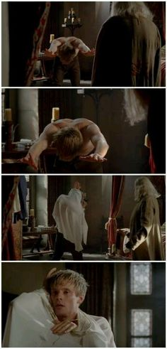 "I almost want Gaius to be like: ""No need to bow, Your Highness."""