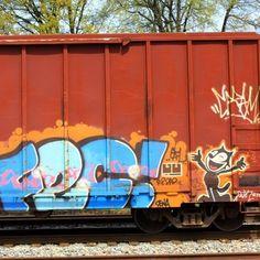 Train Graffiti Atlanta