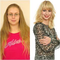 Kadeřnické a kosmetické Studio Jana Burdová— Art of Hair Veronica, New Hair, Studios, Hair Beauty, Hairstyles, V Neck, T Shirts For Women, Tops, Art