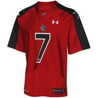 Under Armour Texas Tech Red Raiders #7 2012 Pride Game Replica Jersey - Scarlet