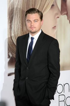 """Leonardo DiCaprio arriving at the World Premiere of """"Revolutionary Road"""" at the Mann's Village Theater in Westwood, CA on December 15, 2008"""