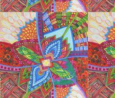nuevo1 fabric by lita_blanc on Spoonflower - custom fabric