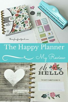 My Happy Planner Review. A beautiful planner for keeping you organized,on task and on time.