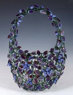 Lampwork glass by Robert Mickelson