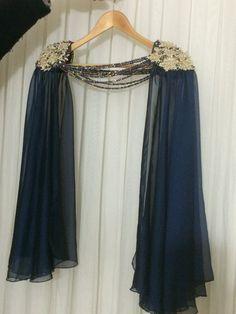 wedding chiffon shoulder cloak Wedding shoulder pads от WedWorld