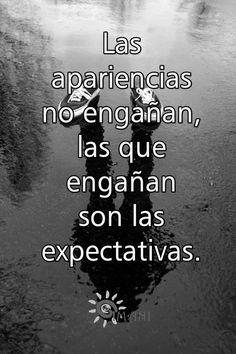 Expectativas...¡fuera!
