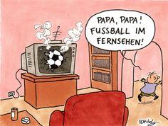 Cartoons über Fußball | Stadtbekannt Wien | Das Wiener Online Magazin