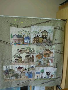 Yoko saito mystery BOM.   This was in the Quilt Mania magazine for several seasons.