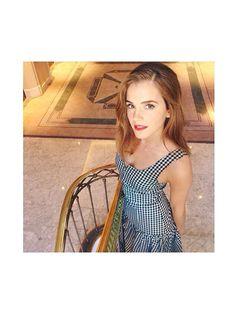 Prettiest Instagrams of the Week: Emma Watson's red lip and effortless waves