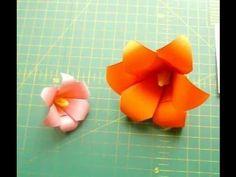 Оригами лилия из бумаги - шести лепестковый цветок, Origami lily (+leját...