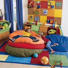 Bean Bag Chair Pattern Blue Ball Kids Castle Toy Storage Bins Wicker Dining Chairs