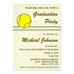 =>quality product          Tennis Ball Player Sport Athlete Graduation Party Invite           Tennis Ball Player Sport Athlete Graduation Party Invite we are given they also recommend where is the best to buyShopping          Tennis Ball Player Sport Athlete Graduation Party Invite lowest p...Cleck Hot Deals >>> http://www.zazzle.com/tennis_ball_player_sport_athlete_graduation_party_invitation-161564697019779360?rf=238627982471231924&zbar=1&tc=terrest