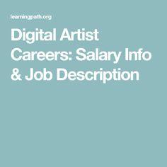 Digital Artist Careers: Salary Info & Job Description