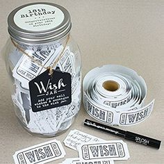 18th Birthday Wish Jar: Amazon.co.uk: Kitchen & Home