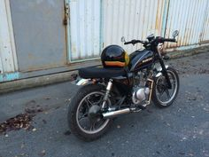 Suzuki Gn 125 / Brat Style from istanbul made by Boss Kazım for Caner Güner in 2014