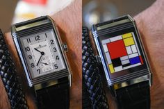 The Reverso certainly is the most iconic watch of Jaeger-LeCoultre. Of course, most of us know its long and rich history, with its roots linked to British polo players asking for a protected watch and its subsequent creation in 1931. There's one thing that this particular construction allowed: personalisation. Today, the back of this classical Jaeger-LeCoultre Reverso is a field of expression to celebrate a double centenary: the birth 100 years ago of Dutch art school De Stijl (think Piet...