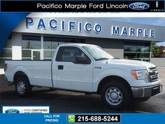2013 Ford F-150 XL 9k miles $20,995 9313 miles 215-688-5244 Transmission: Automatic  #Ford #F-150 #used #cars #PacificoMarpleFordLincoln #PikeBroomall #PA #tapcars