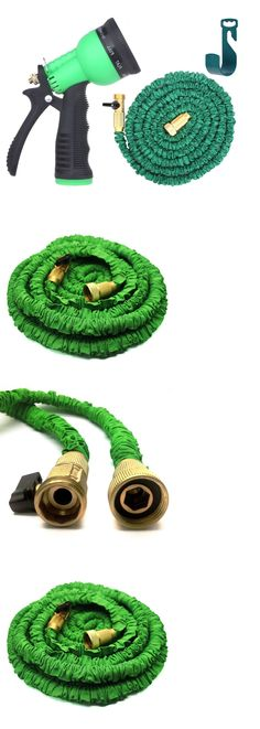 Connectors Clamps and Fittings 181013: Super Stretch Garden Hose The Strongest Expandable Retractable Flexible 50 Feet -> BUY IT NOW ONLY: $36.97 on eBay!