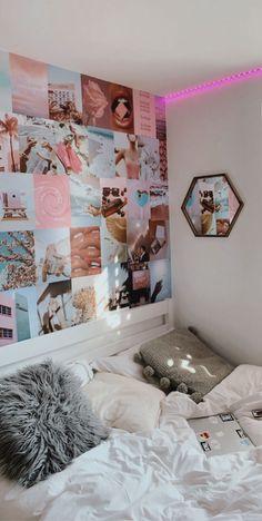 Cute Bedroom Decor, Room Ideas Bedroom, Bedroom Inspo, Neon Room, Indie Room, Pretty Room, Aesthetic Room Decor, Cozy Room, Room Inspiration