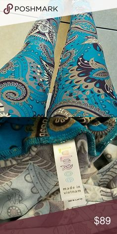 NEW TC LULAROE LEGGING UNICORN PAISLEY Tall and curvy 12-22 legging. New with tags. Please no rude comments in my closet. All pricing comments will be ignored. If you're unsure about a color please ask. No trades. Open to offers. Thanks for looking:)  HTF MAJOR UNICORN! LuLaRoe Other