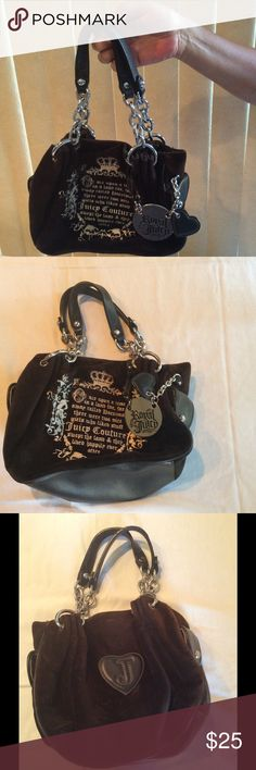 Cute Juicy Couture Purse! Used but still in great shape! Great size :) make an offer! Juicy Couture Bags