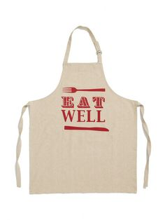 Entertaining Eat Well Apron by Shiraleah at Gilt Homemade Aprons, Homemade Gifts, No Cook Desserts, No Cook Meals, Entertaining Angels, Bbq Apron, Weak In The Knees, Breakfast Of Champions, Cooking Bacon