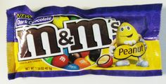 Dark Chocolate Peanut M's