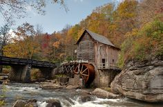 Cooper's Mill on Glade Creek Grist