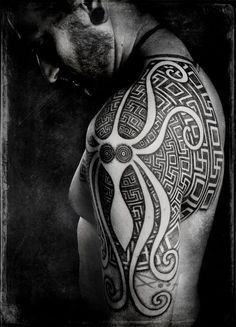 Tattoos I want on Pinterest   Octopus Tattoos Octopus and Octopus ...