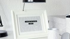 Bloß nicht wegschmeißen: Tapetenreste verwerten  https://www.otto.de/roombeez/tapetenreste-verwerten/2256/  #DIY #interior #bilderrahmen #labelmaker #tapete