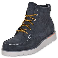 Nike Kingman Leather Men's Boots at Finish Line