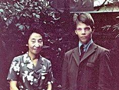 TOKUGAWA MOTOKO and Roy Lindquist 1969