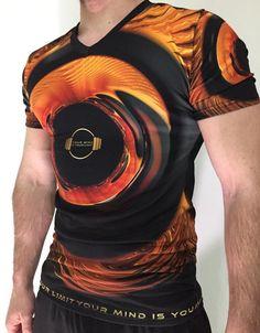 A&F Men's T-Shirt - Dorado