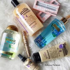 NOTHING PERSONAL: New In... Helena Rubinstein l OGY Coconut Water Shampoo l Treaclemoon Thamt Vanilla Moment l Essence Single Fake Lashes