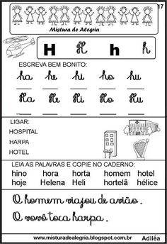 livro-das-familias-silabicas-letra+H-imprimir-colorir.JPG (464×677)