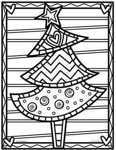 Little Christmas Tree Drawing 32 New Ideas Preschool Christmas, Christmas Activities, Christmas Crafts For Kids, Xmas Crafts, Christmas Printables, Kids Christmas, Christmas Tree Drawing, Little Christmas Trees, Christmas Colors