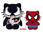 Venom & Spiderman Hello Kitty    rancid1881's deviantART gallery